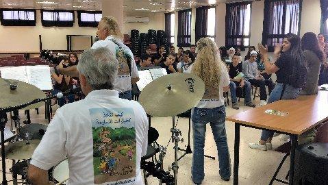 high-school-band-performance